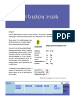 Design for Recyclability Scorecard - Morrisons