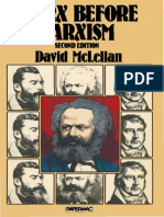 David McLellan (auth.)-Marx before Marxism-Palgrave Macmillan UK (1980).pdf