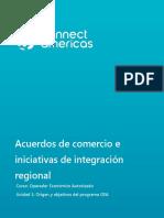 Acuerdos Comercio Integracion Regional