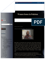 Women Issues in Pakistan CAST
