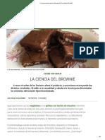 La Ciencia Del Brownie _ Recetas El Comidista EL PAÍS