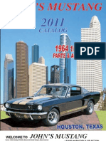 John's Mustang 2011 Classic Ford Mustang Catalog