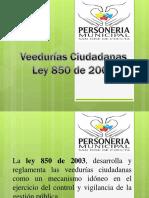 presentación veeduría Colombia Cúcuta
