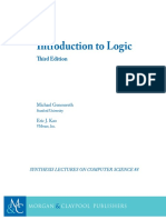 Michael Genesereth, Introduction to Logic-Morgan (2017)