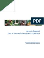Agenda Plan Desarrollo Economico Cajamarca