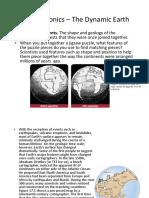 05_Geology_Plate Tectonics I, Wegener Theory
