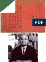 Tanasescu, Horia_Existencialismo, Pensamiento Oriental y Psicoanálisis_1967