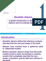 Geodetic Datums2