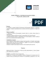 OPTATIVA Teoría Feminista y Estudios de Género 2012- Bidaseca y Vazquez Laba