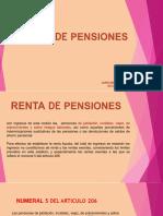 renta de pensiones