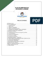 18. Manual Plan de Emergencias