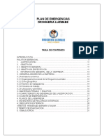 18. Manual Plan de Emergencias