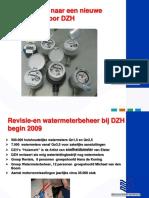 PUM New Watermeter Dunea Dutch