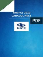 Tarifas 2019 Caracol Next.pdf