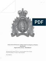 RCMP review into death of Nadine Machiskinic