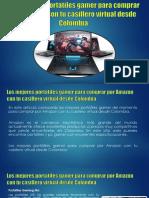 Los Mejores Portatiles Gamer Para Comprar Por Amazon Con Tu Casillero Virtual Desde Colombia