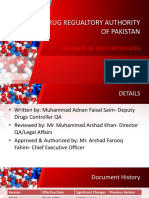 Drug Regulatory Authority