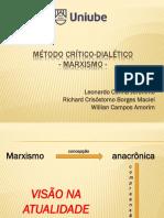 Método Crítico-Dialético - APRESENTAÇÃO