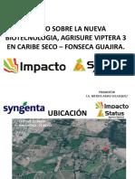 Ensayo Sobre La Nueva Biotecnologia, Agrisure Viptera Fonseca