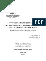 Martínez & Villagra (2015). Factores de riesgo cardiovascular en operadores de parquímetros mediante tabla de Framingham adaptada a la población chilena, Osorno, 2015..pdf