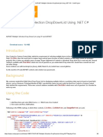 ASP.net Multiple Selection DropDownList Using .NET C# - CodeProject