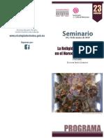 Seminario 2019 Programa