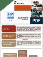 Presentación Formación Profesional Básica 2019