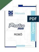 CNCProteo Mini Manual Operacao