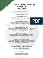 Compilación normas carrera judicial Guatemala