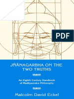 Jnanagarbha on the Two Truths_ an Eight Century Handbook of Madhyamaka Philososphy-Motilal Banarsidass (1992)