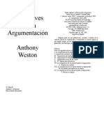 7. Weston. Claves argumentacion. Para estudiantes.doc