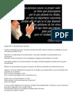 Quien Soy y De Donde He Venido - Jorge Bucay