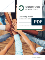 Dogwood Health Trust CEO Leadership Profile, March 2019