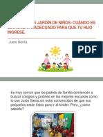 IInscripciones jardín de niños