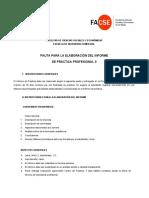 5 Pauta Elaboración Informe de Práctica II(v2).