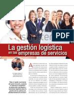 La Gestion Logistica en Empresas de Servicios