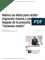 """México Se Alista Para La Migración Masiva y Posible """"Caravana Madre"""" _ CNN"""