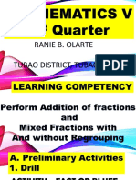 Adding Fractions and Mixed Fractions With or With Out Regrouping