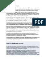 La Importancia Del Color en El Diseño