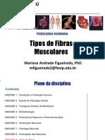 AULA 7- Tipos de Fibras Musculares