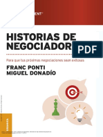 Historia de negociadores
