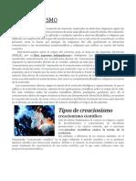 EL CREACIONISMO.docx