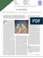 Pedro Schwartz's La Envidia en la España actual (2018)