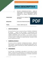 01.0 Memoria Descriptiva v. Hijos de Leguia