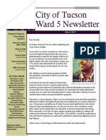 Ward 5 Newsletter - March 2019