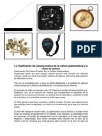 La clasificación de valores propios de la cultura guatemalteca y la clase de valores.docx