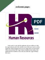 Humen Resource Hardcopy