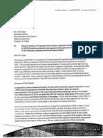 Regional University/ Quasi Agency Exit Actuarial Analysis