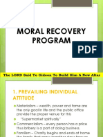 Moral Recovery Program Power Point