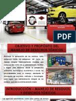 Clasificación de los desechos tóxicos en los talleres automotrices